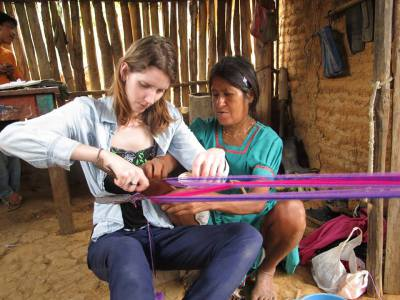 chumbe weaving