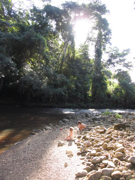 Swimming -River Cumbaza