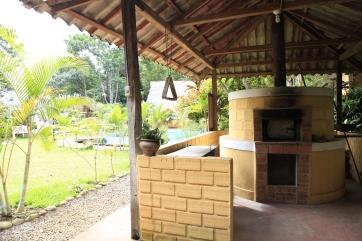 Oven at Casa La Sangapilla