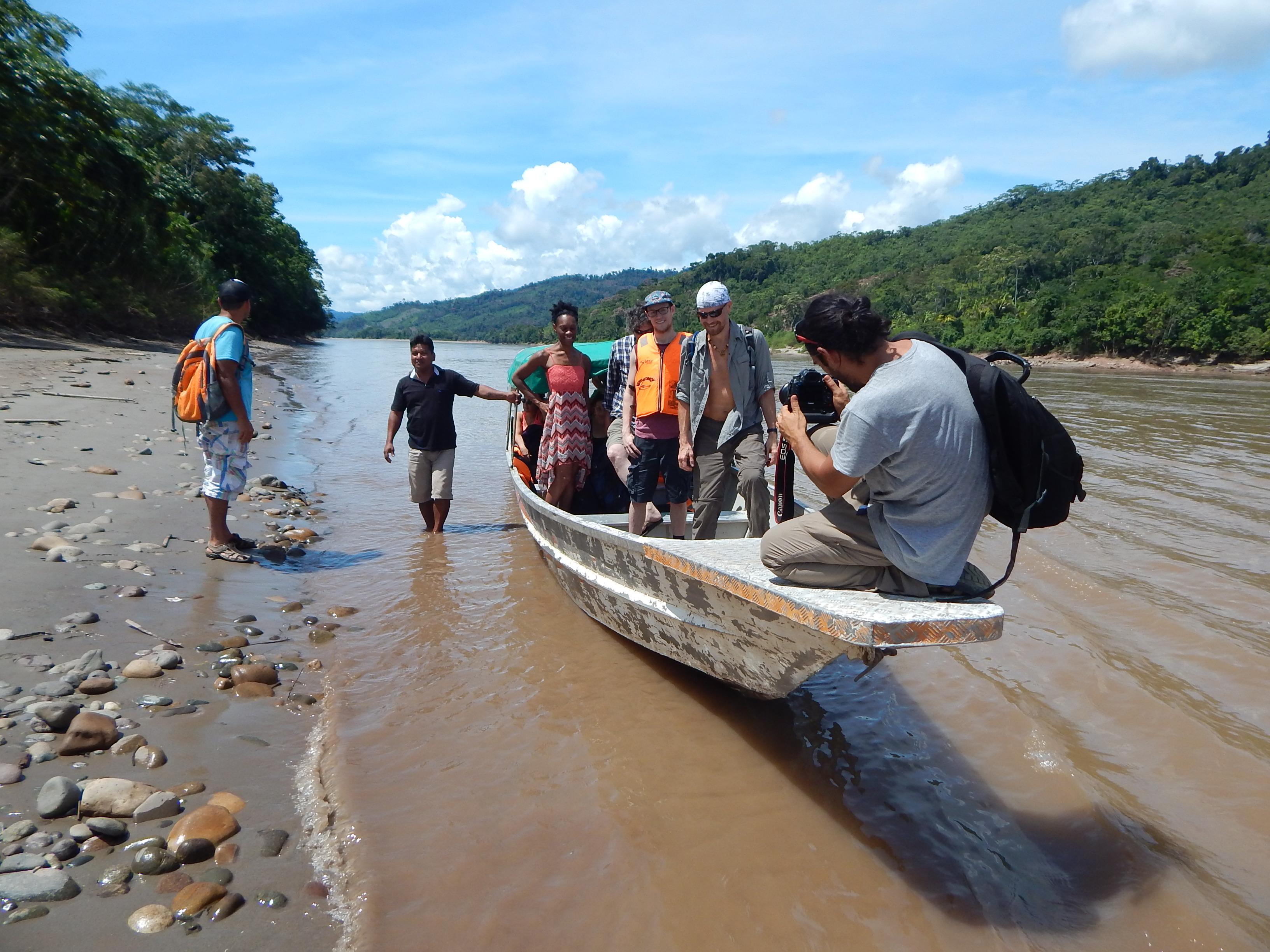 Amazon rainforest river trips | chocolate making courses | River Huallaga Chazuta
