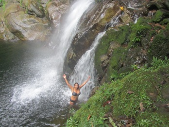Huacamaillo Waterfall