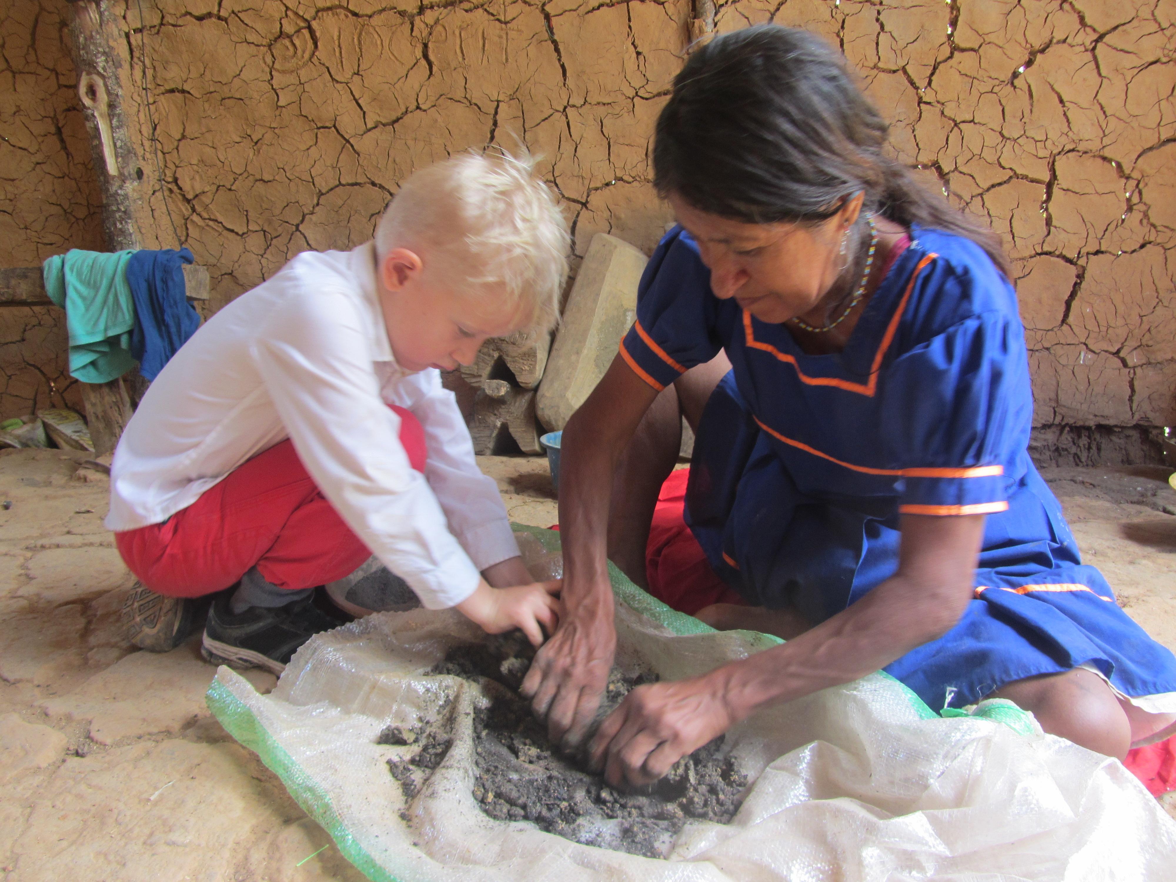 ceramics courses, walking holidays, Peru.