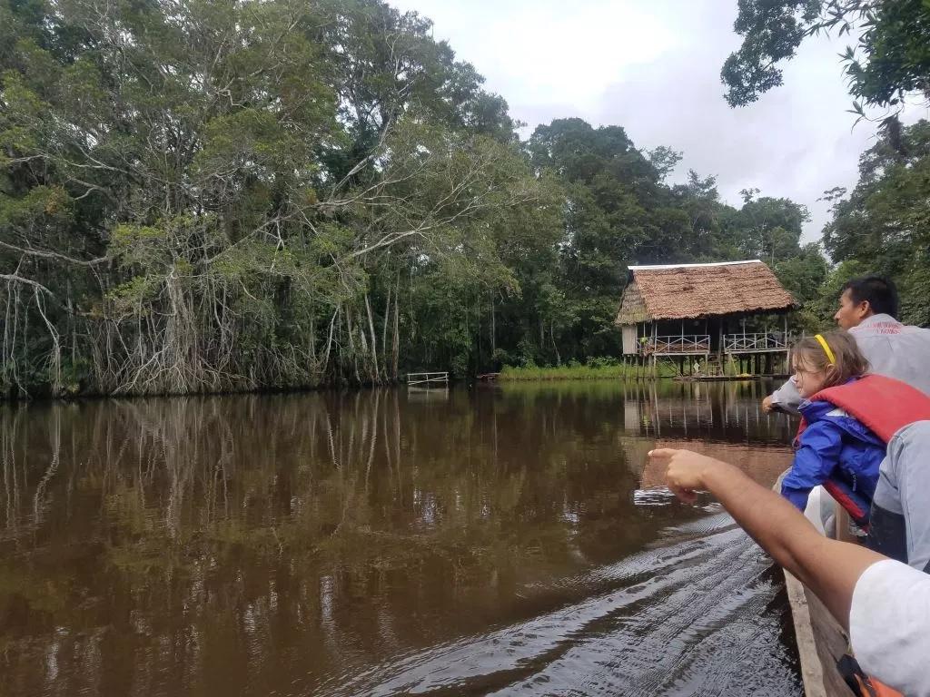 Amazon river trip